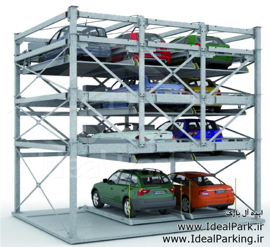 پارکینگ پازلی