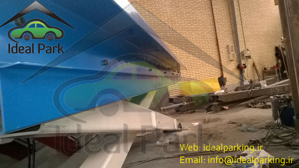 آسانسور خودرو بر مدل CL-SH01
