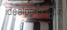 راه اندازی اولیه و تحویل موقت پروژه پارکنیگ مکانیزه تبریز