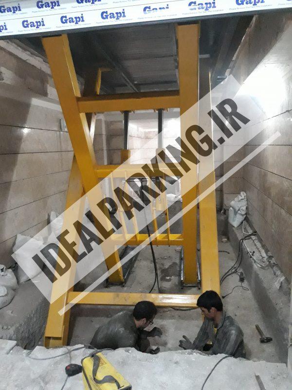 آسانسور خودروبر پروژه کرج